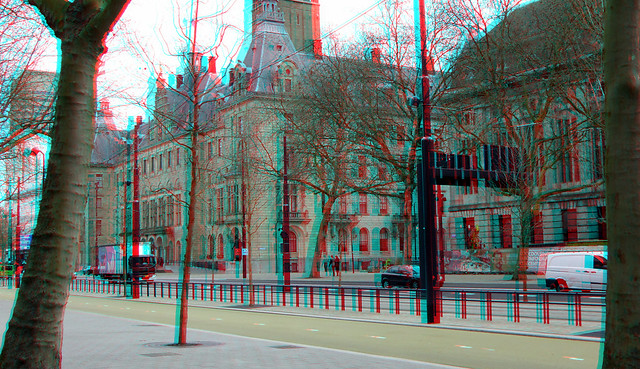 Coolsingel april 2021 Rotterdam  3D