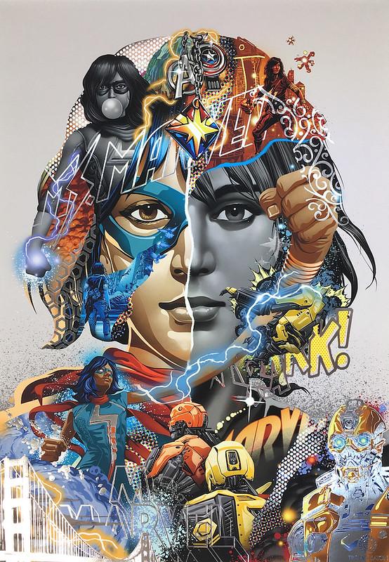 Tristan Eaton Ms Marvel