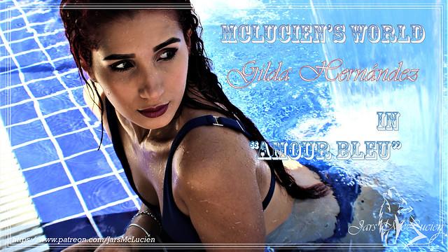 Gilda H - Amour Bleu - Cover 2021