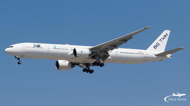 TLV - IAI Boeing 777-300 Freighter N557CC