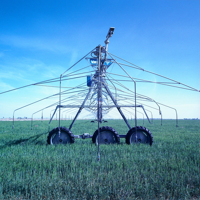 irrigation (xpro). mojave desert, ca. 2011.