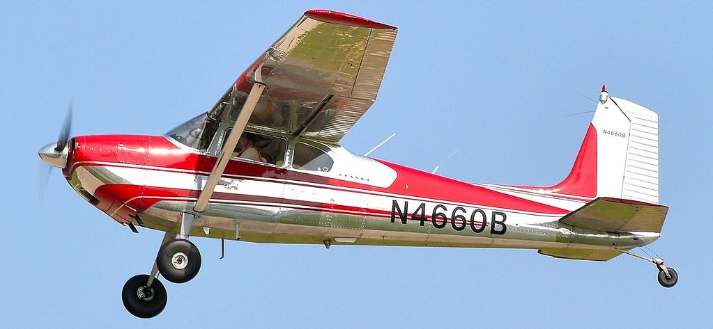 Cessna180 Skywagon N4660B