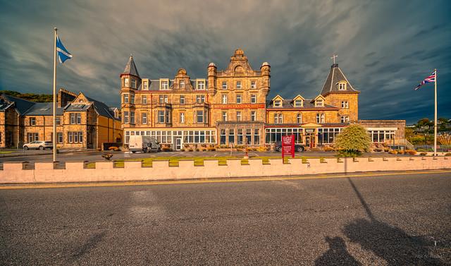 Muthu Alexandra Hotel, Oban, Scotland.