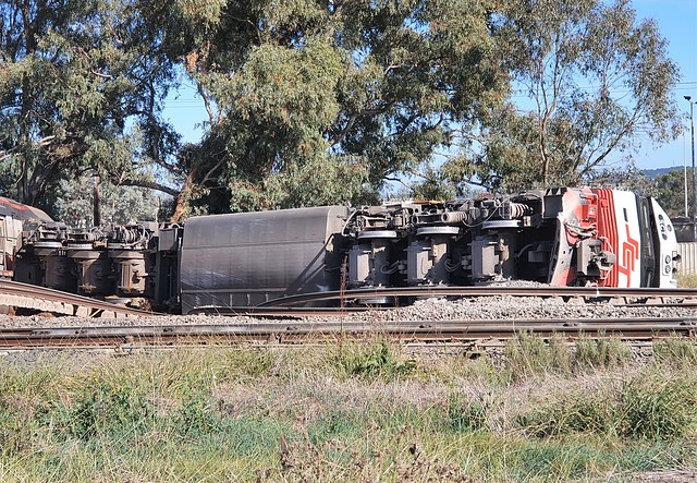 DERAILMENT AT BOWMAN NSW