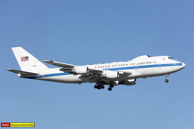73-1677 | Boeing E-4B Nightwatch | USAF 1st ACCS