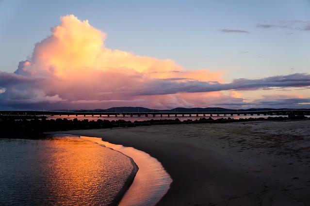 river sunset 4