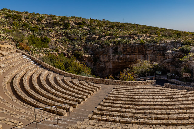 Amphitheater for Viewing Bats in Carlsbad Caverns