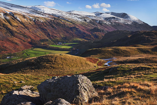 View towards Helvellyn from near High Rigg (EXPLORED)