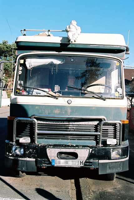 1970s Mercedes truck converted to a mobile home