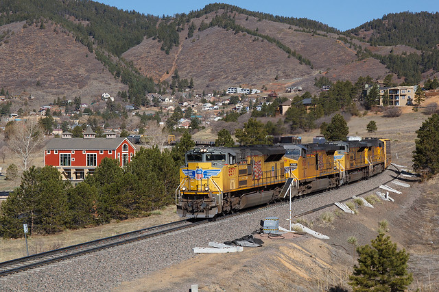 UP 8577 Palmer Lake 10 Apr 21