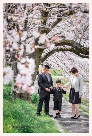 愛知県瀬戸市で小学校入学記念のロケーションフォト