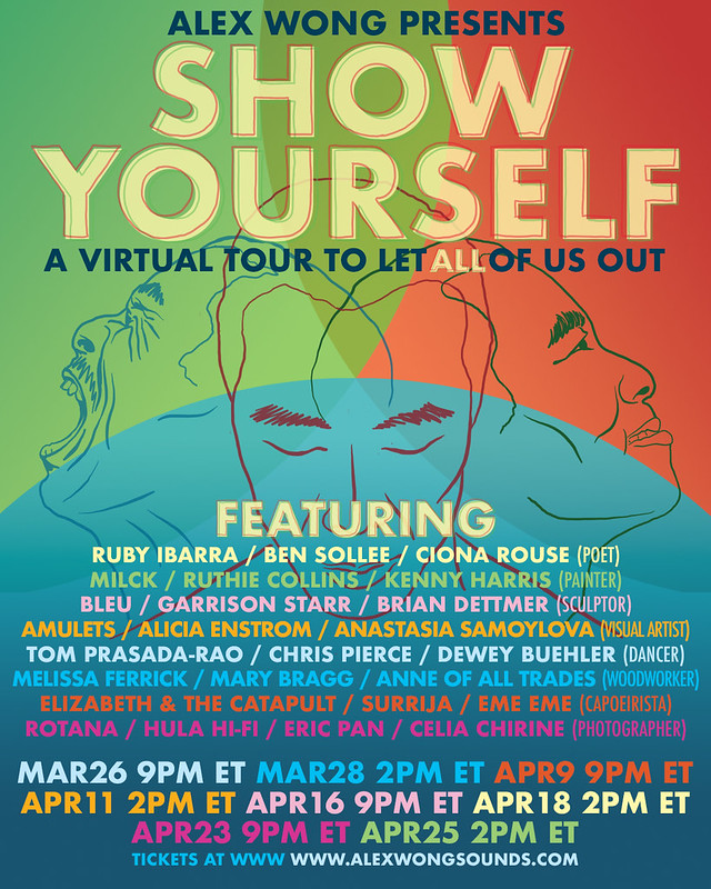 SHOW YOURSELF TOUR INSTA FLYER V1.0