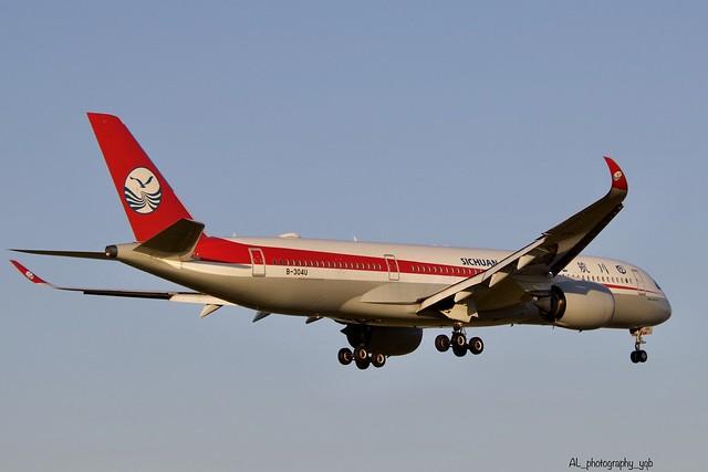 Sichuan Airlines Airbus A350-941 B-304U YVR