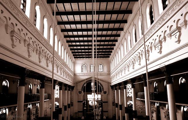 Architecture of Beth El Synagogue, Kolkata, India