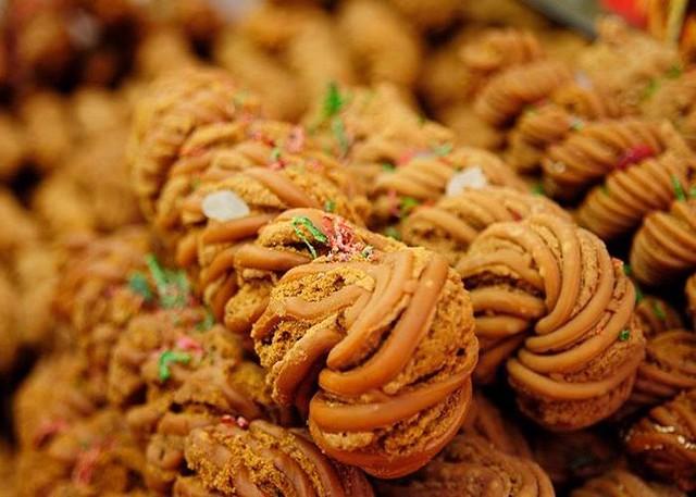 Bánh Shibajie Mahua ở Trung Quốc