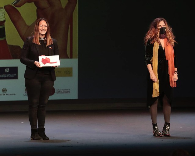 Lucía recibe el premio