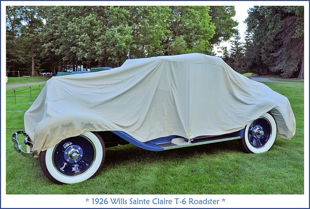 1926 Wills Sainte Claire T-6 Roadster