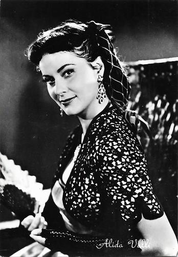 Alida Valli in Les amants de Tolède (1953)