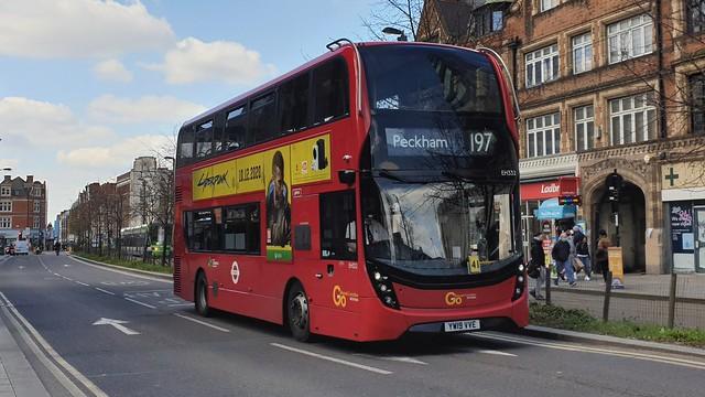Go-Ahead London EH332 (YW19 VVE) East Croydon 16/4/21