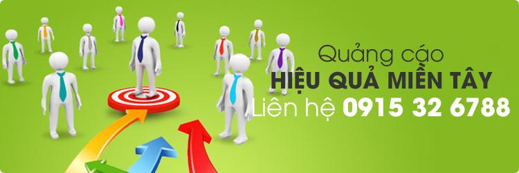 Chi phí quảng cáo miền Tây www.MienTay.net.vn năm 2021 - Liên hệ  0915 326788
