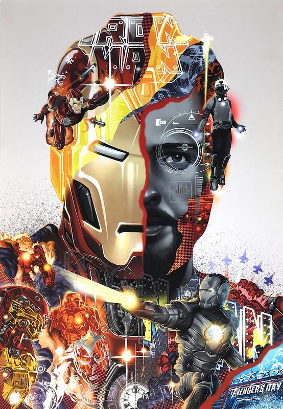 Tristan Eaton Iron Man