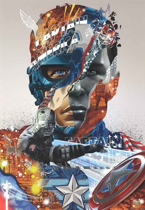 Tristan Eaton Captain America