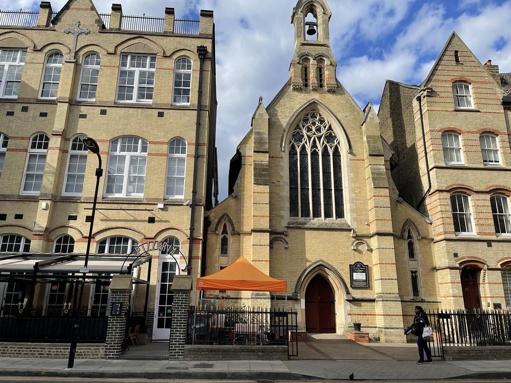 IMG_2952 Catholic Church of St Monica Hoxton Square Shoreditch London