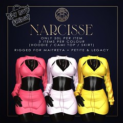 Narcisse - Fly Buy Friday April 16