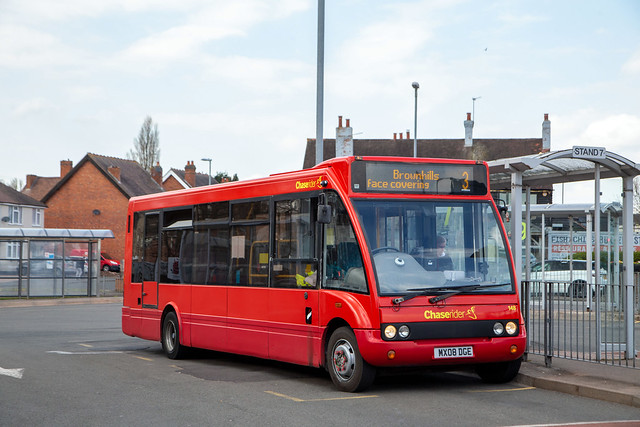 Chaserider 148, Cannock bus station, April 2021
