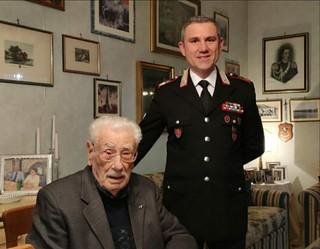 Vito Di Palma insieme al Luogotenente Fabio Tassinari