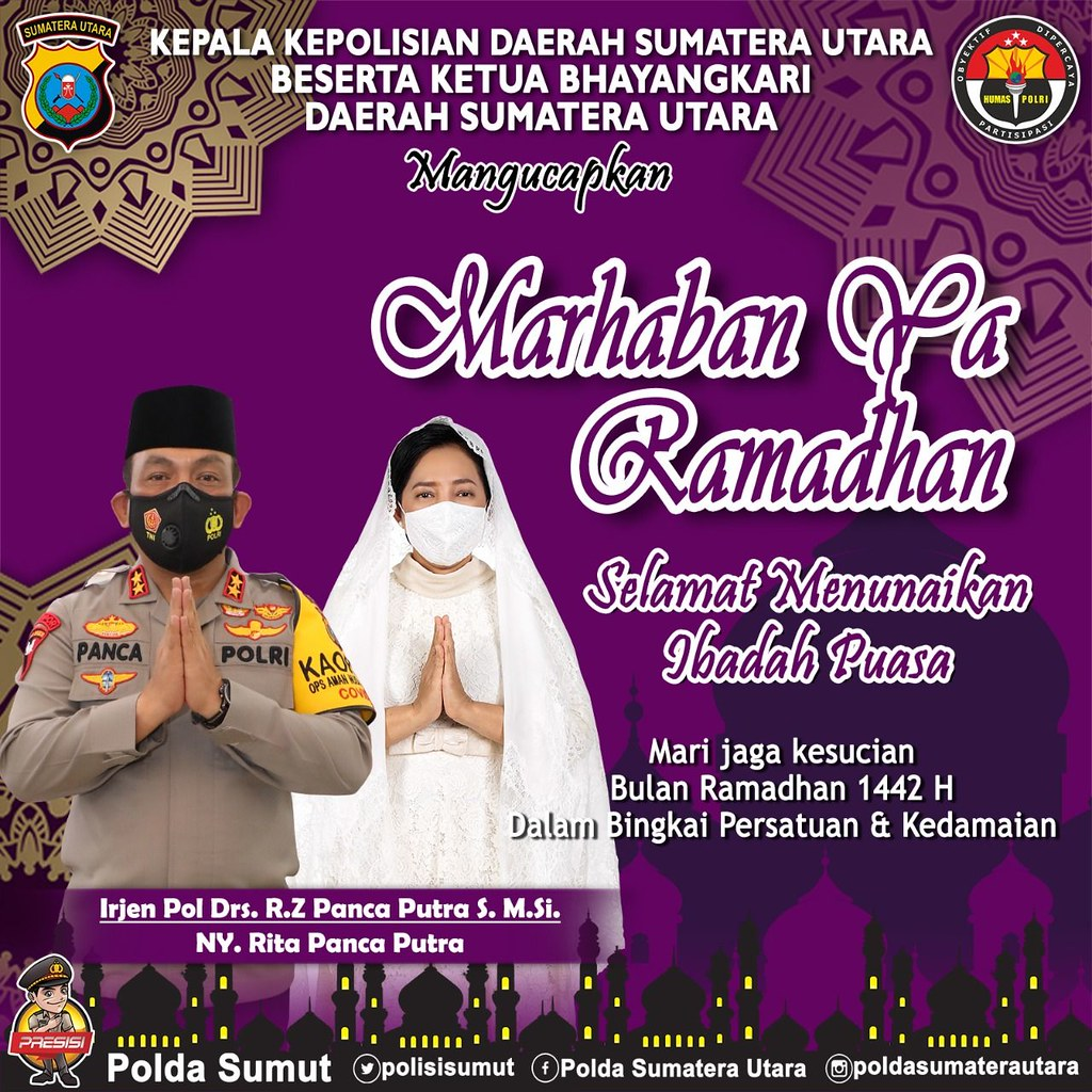 ucapan ramadhan kapolda sumut- lintassumut