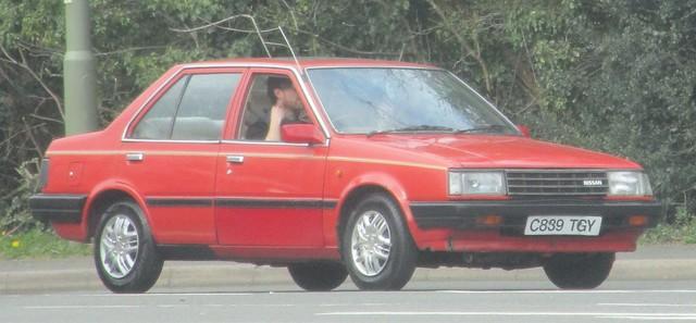1986 Nissan Sunny Spirit GS