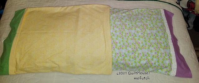 2021-04-16 Springtime Pillowcases for Grands