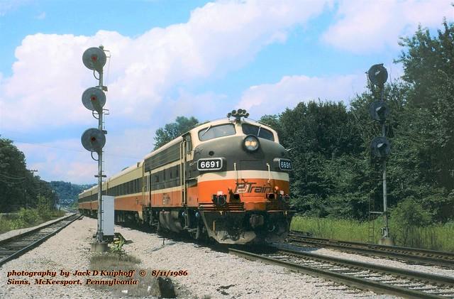PAT 6691, Sinns, PA. 8-11-1986