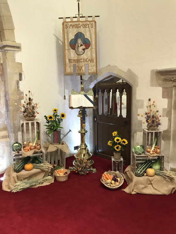 The front harvest display