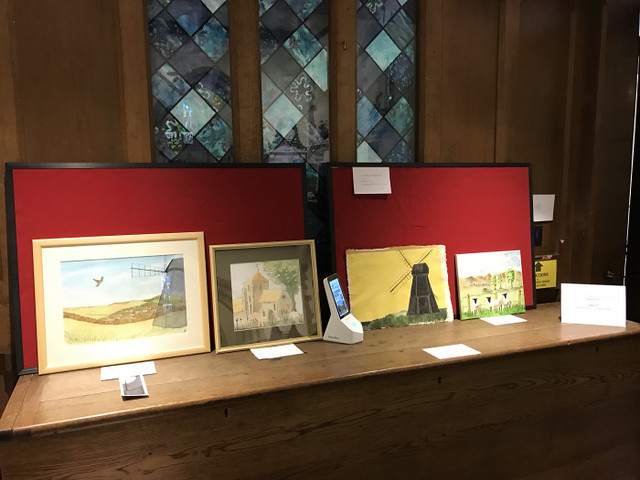 The art section