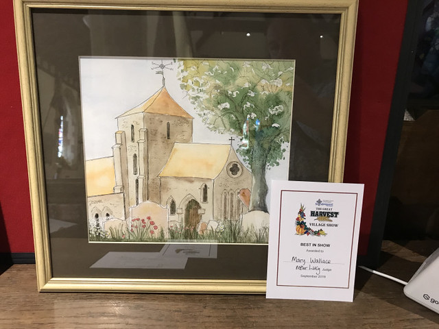 Adult Best in Show - Mary Wallace - Watercolour