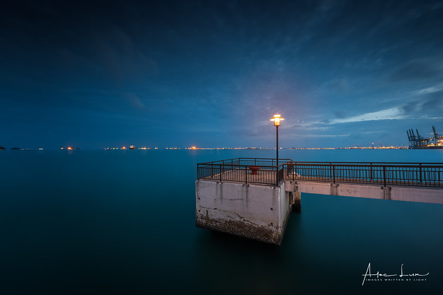Blue Hour At Labrador Jetty III