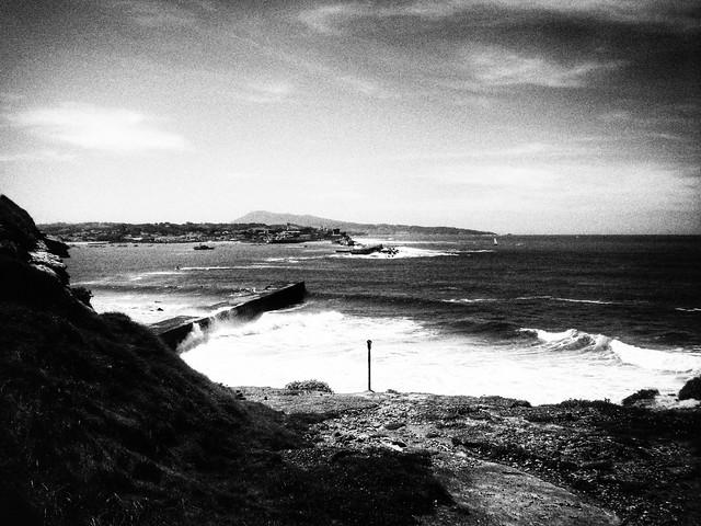 J'ai jeté mes rêves à la mer.