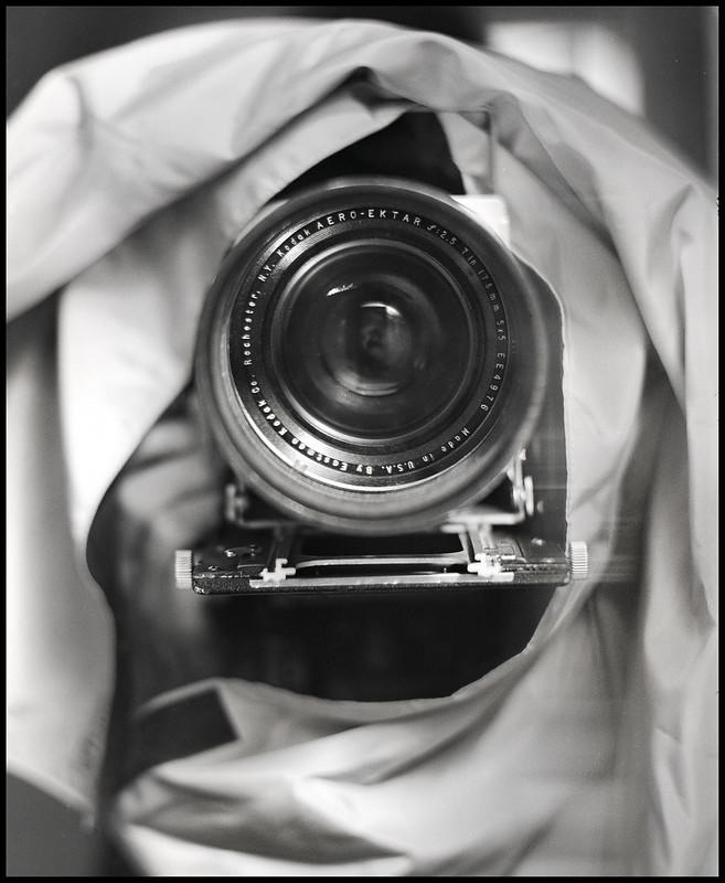 Kodak Aero Ektar 178mm f2.5 Selfie