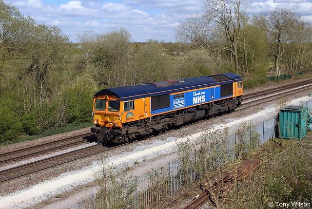 66731 GB Railfreight & Porterbrook