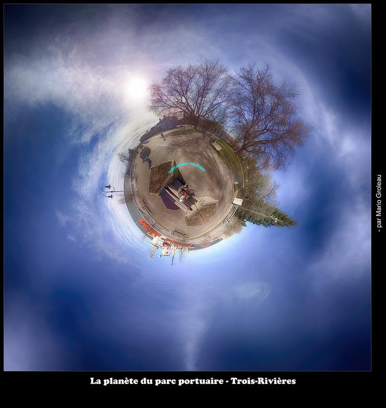 La planète du parc portuaire - Trois-Rivières