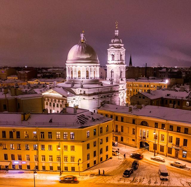 St.Petersburg church of St.Catherine/ Церковь святой Екатериы