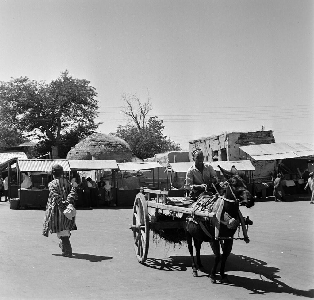 Самарканд. Сиабский базар.1