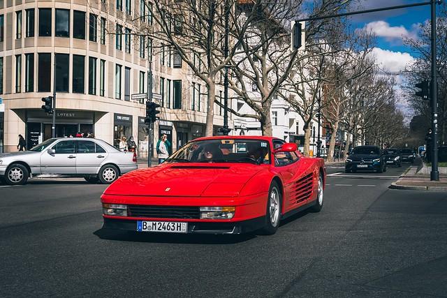 Ferrari Testarossa «Monospecchio»