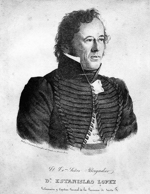 GOBERNADOR y CAPITAN GENERAL de la Provincia Sta Fe. ESTANISLAO LOPEZ.