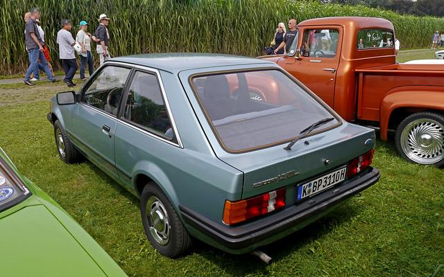 Ford Escort 1.3 GL, 3-türige Limousine  (Gen-3, ph-1, 1980-1985)