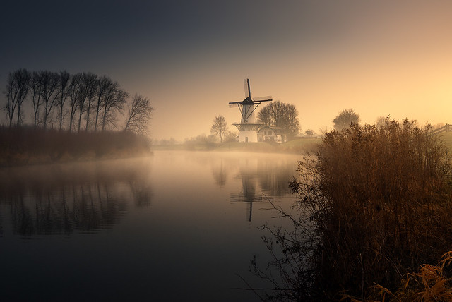 Molen De Vlinder, Holland