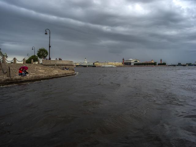 Saint-Petersburg. August.