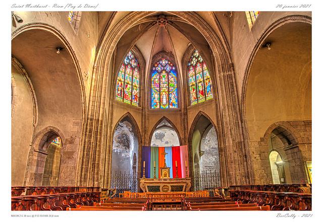 Notre-Dame du Marthuret - Riom - Puy de Dôme